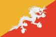 vlajka Bhútán